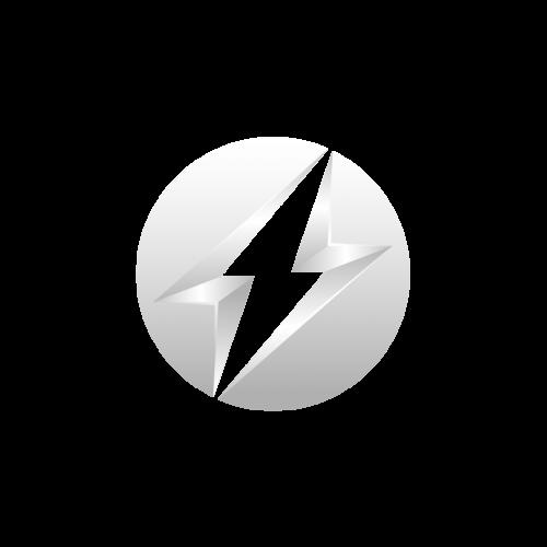 Logo valkoisena